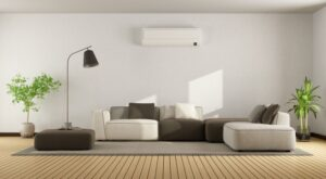 room-with-heat-pump